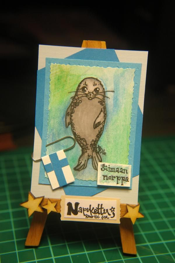 Available. Saimaa ringed seal.