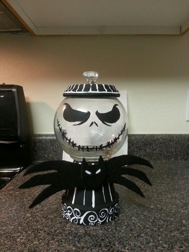 jack nightmare before christmas crafts | clay pot crafts halloween christmas cookies crafty xmas christmas clay ...
