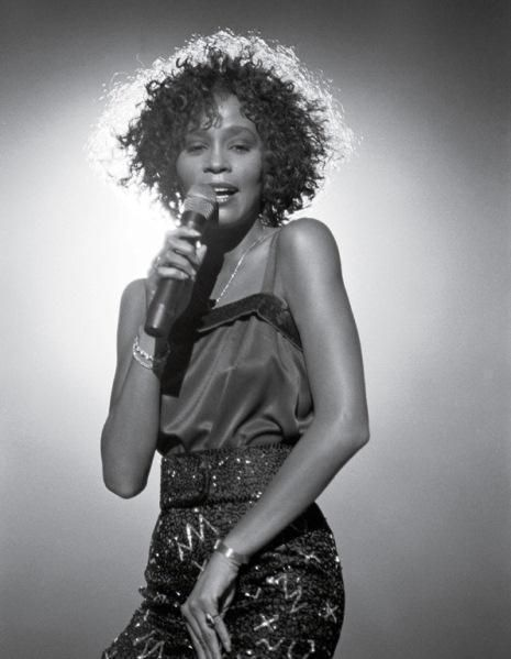 Whitney Houston performing during the mid-1980's. (Photo by David Corio, courtesy of LIFE Books