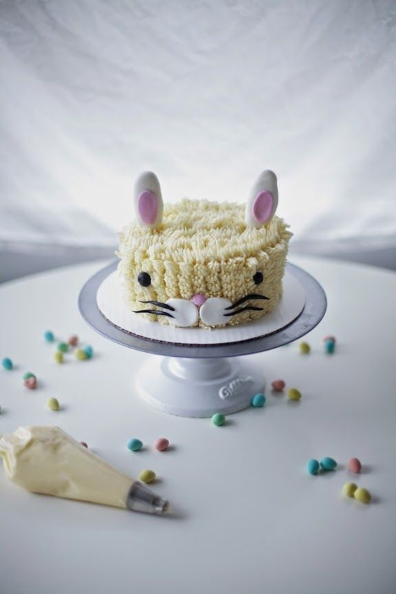 Coco Cake Land - Cakes Cupcakes Vancouver BC: Get Your Bunny On For Easter! Bunny Cake + Bunny Cake Toppers