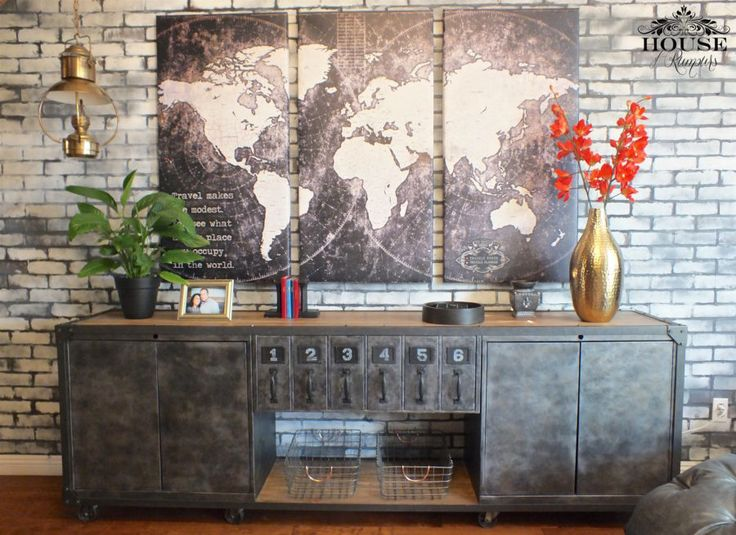 Restoration Hardware Office – Champagne Taste on a Beer Budget! » House of Rumours