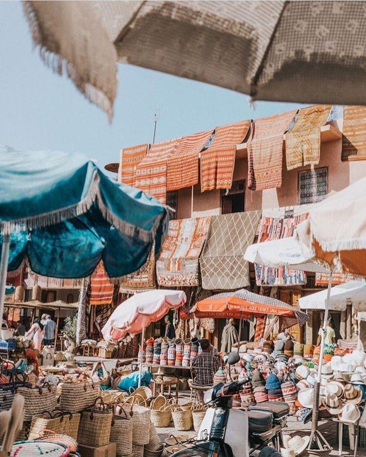 Meet us in Marrakech? || Rug heaven in the Medina via @collagevintage  #morocco #exploremore #beachgoldinspo