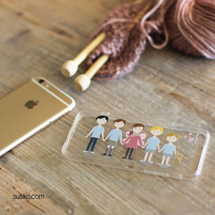 Fundas de móvil personalizadas, diseña tu propia funda de móvil