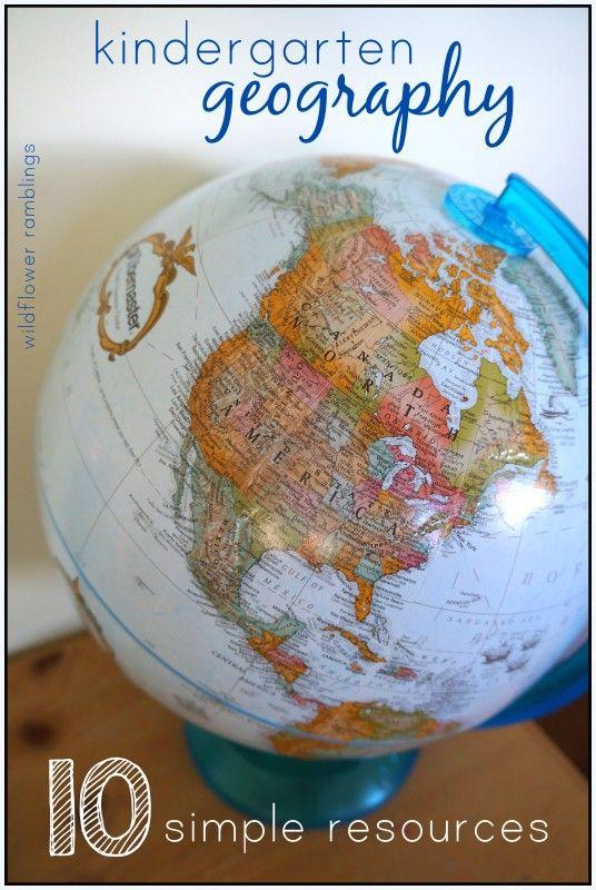Cómo enseñar geografía a los niños. Educación.  How to teach geography to children. Education