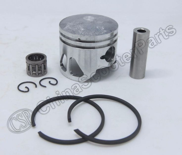 Performance 44MM 12MM Two Extra Window Piston Ring Bearing Kit 47CC 49CC Mini Moto Dirt Pit Bike ATV Quad Parts