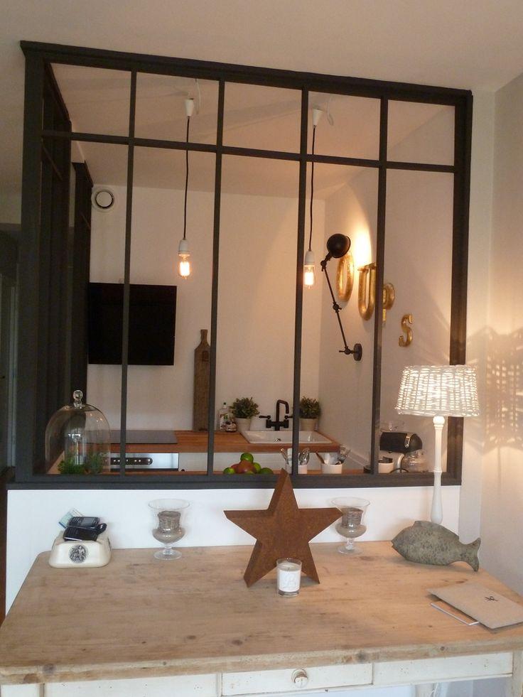séparation idéale entre la cuisine et le salon