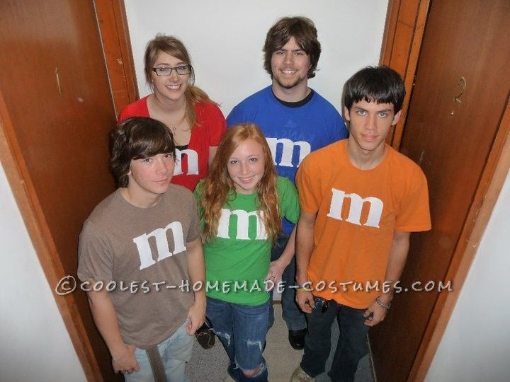 last minute m group costume this website is the pinterest of costumes - Easy Cute Halloween Costume