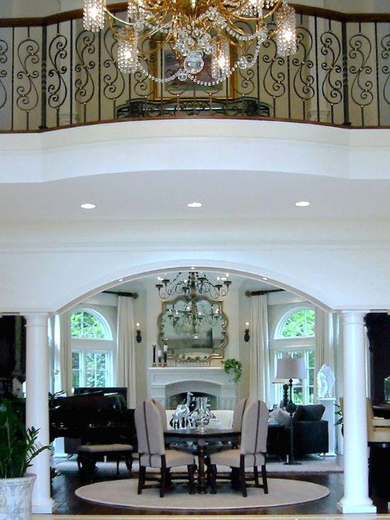 Doorway Designs arched doorway with pillars design, pictures, remodel,  decor and