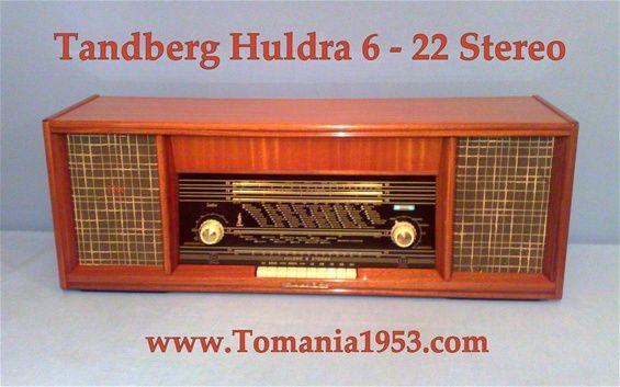 Tandberg Huldra  6 - 22 Stereo