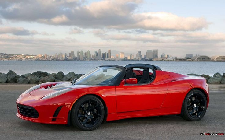 Click Here To Download In Hd Format Tesla Roadster Wallpaper