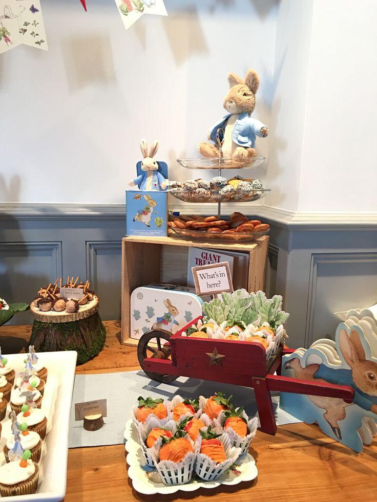 Beatrix Potter Peter Rabbit Mr McGregor Garden Themed Baby Shower