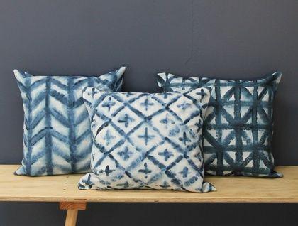 Moody Blue Cushions