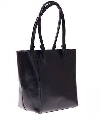 Klasická černá je vždy v módě! Tato krásná, prostorná kožená kabelka je nyní za pouhých 1720 Kč (místo 2680 Kč)  http://panikabelkova.cz/p/129/3145/kozena-kabelka-genuine-leather-dlouhe-madla-cerna-kozene-kabelky.html