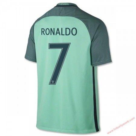 Portugal 2016 Cristiano Ronaldo 7 Bortedrakt Kortermet.  http://www.fotballpanett.com/portugal-2016-cristiano-ronaldo-7-bortedrakt-kortermet-1.  #fotballdrakter