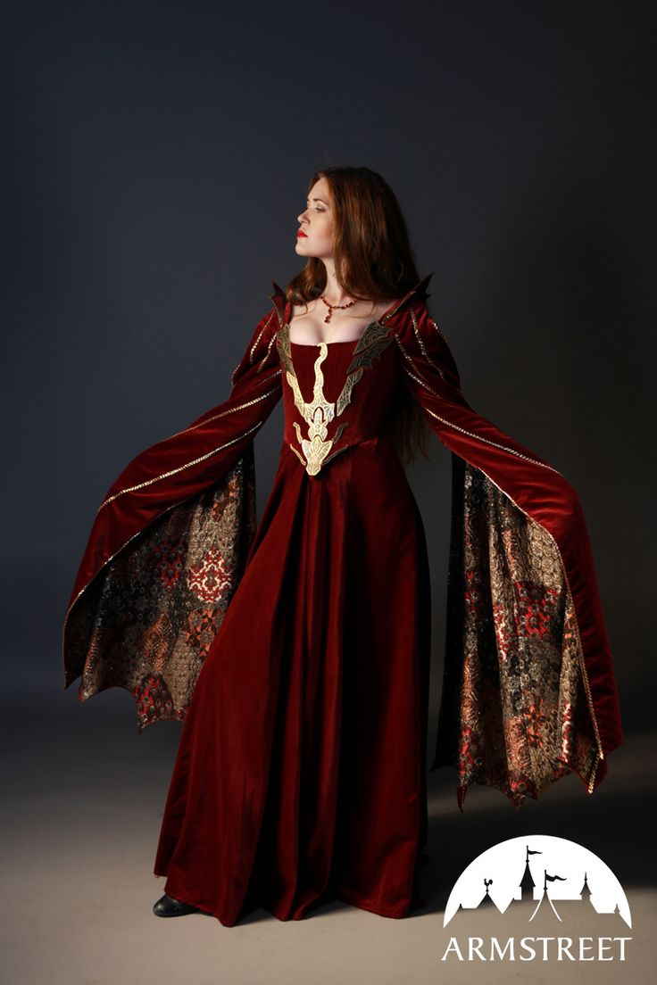 « Madame Dragon » robe personnalisée