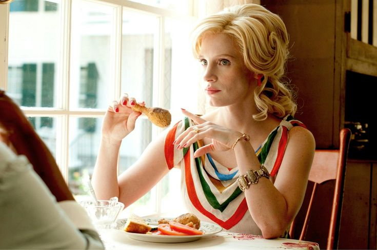 """Jessica Chastain as Celia Foote in """"The Help,"""" 2011"""
