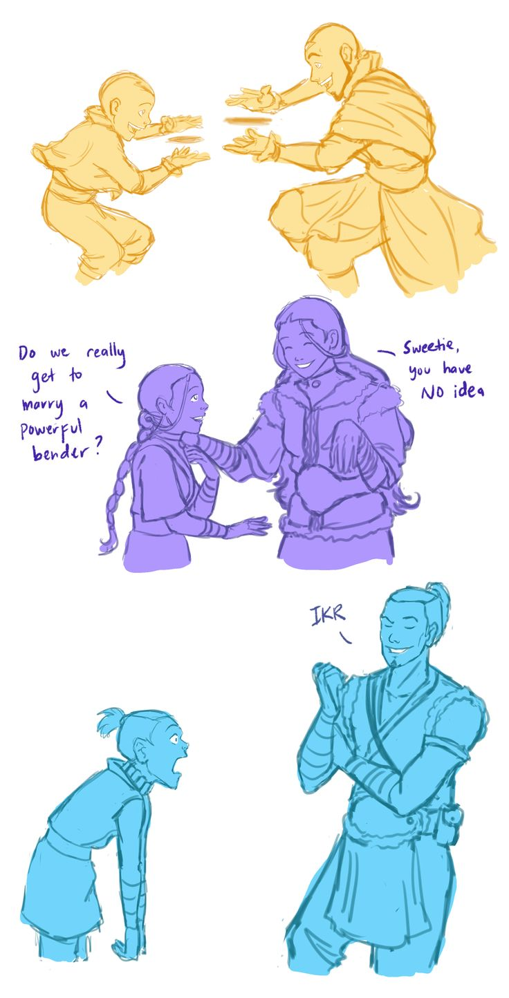 Young Team Avatar meeting their older selves (part 1): Air Bender, Korra Jump, Avatar Meeting, Avatar Regime, Meeting Future, Sokka Faces, The Last Airbender, Young Team, Team Avatar