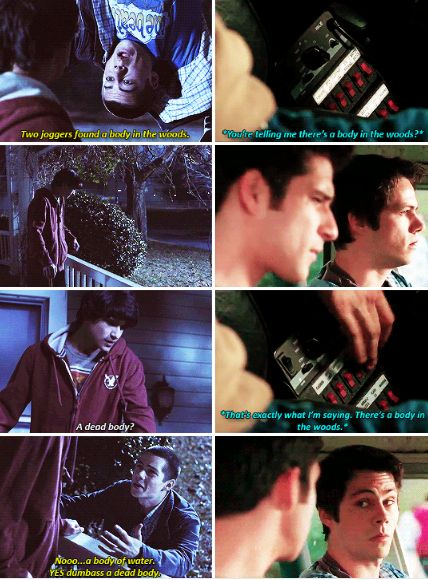Teen Wolf 1x01/ 6x10 IM SO EMOTIONAL OK I really want to rewatch the first season because I'm getting real nostalgic // Scott and Stiles