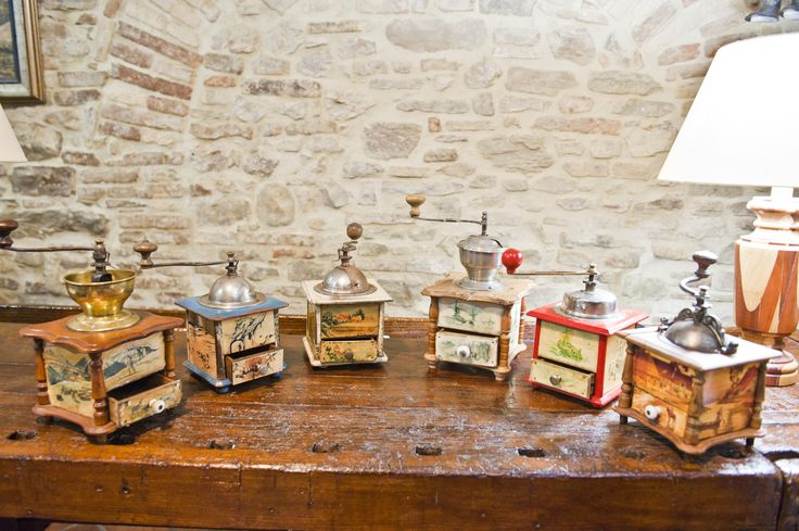 French antique grinders