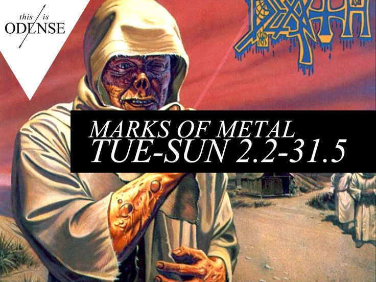 Marks of Metal. At være eller ikke være en rigtig mand. #Mediemuseet #Brandts #odense #thisisodense #mitodense Læs anbefalingen på: http://www.thisisodense.dk/da/17325/marks-of-metal