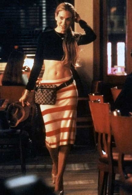 Carrie....The only person to EVER get away with a fannypack!