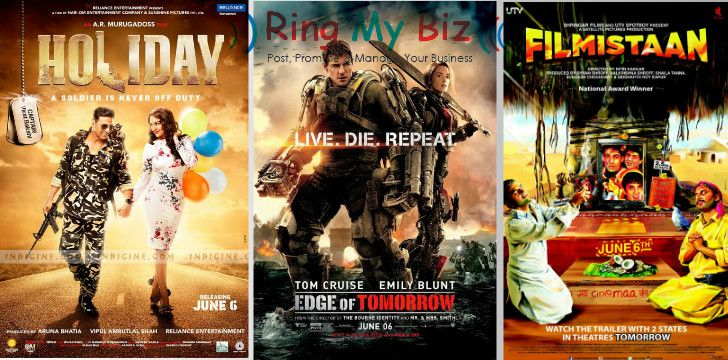 This Weekend Don't waste your time Stay Enjoy   Just visit www.ringmybiz.com and check your Nearest Movie theatre ..