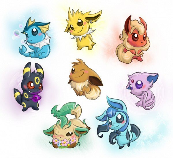 eeveelutions chibi wallpaper - photo #36