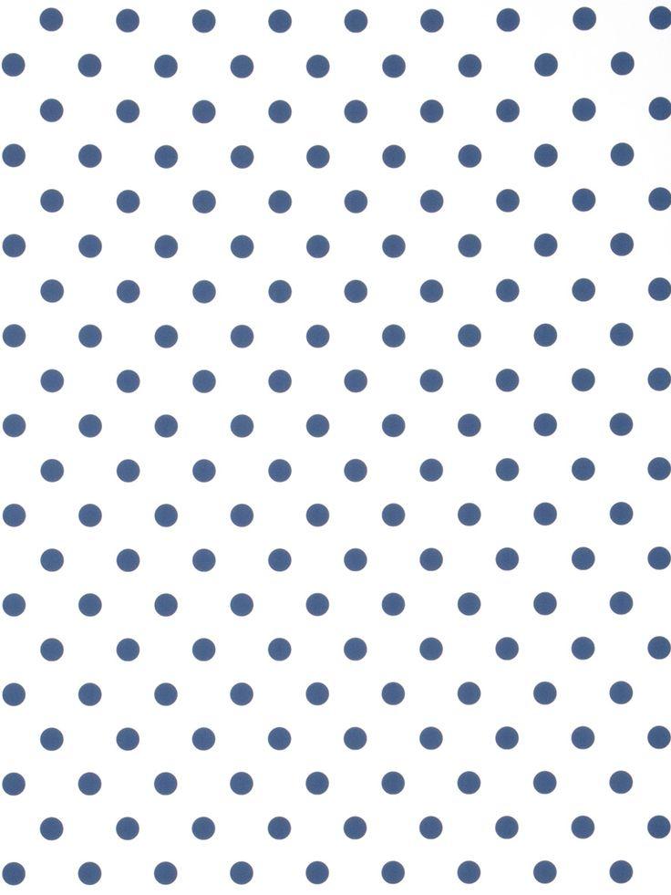 polka dot wallpaper in blue