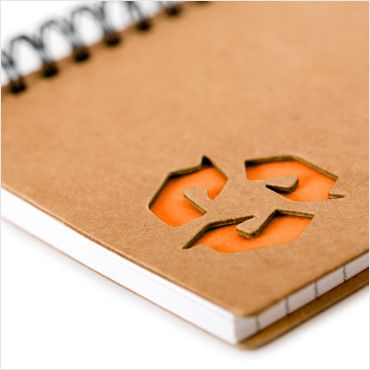 Recycled Spiral Notebook
