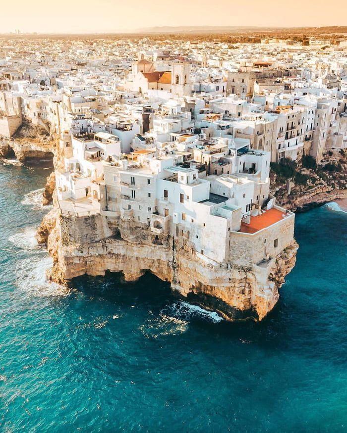 Polignano, Puglia | Italy (Europe) – 9GAG – #Italy…