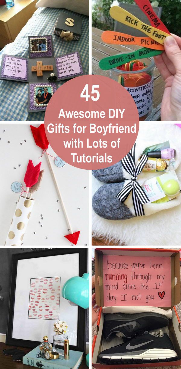 45 Awesome Diy Gifts For Boyfriend With Lots Of Tutorials 2019