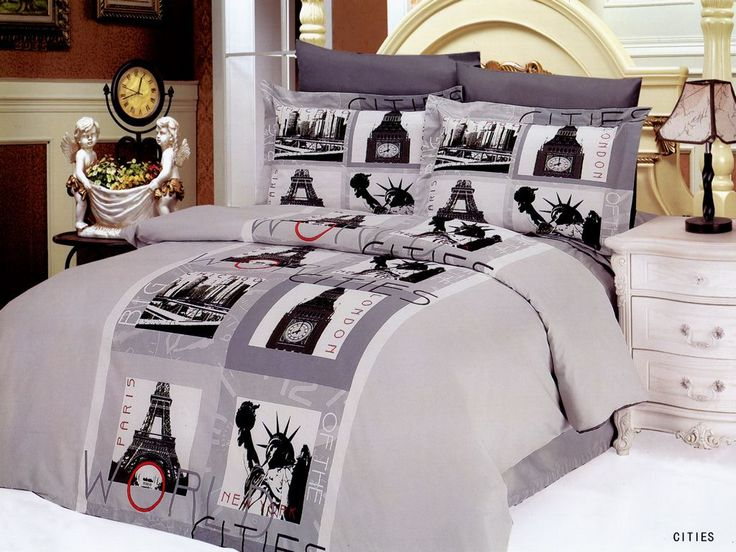 101 best images about eiffel tower decor on pinterest for World themed bedding