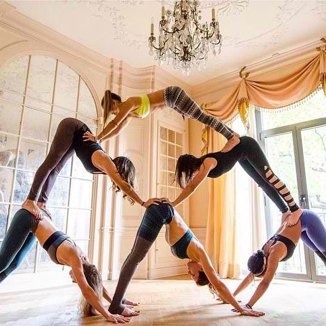 8 Best Images About Group Acro On Pinterest Yoga Poses