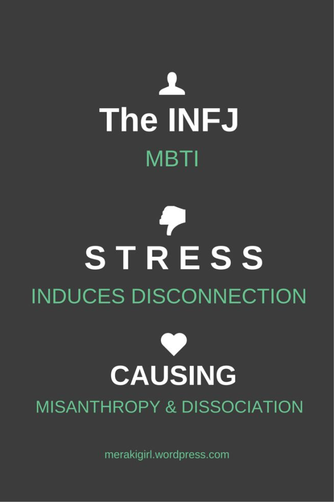 INFJ characteristics. Introverts under stress. MBTI
