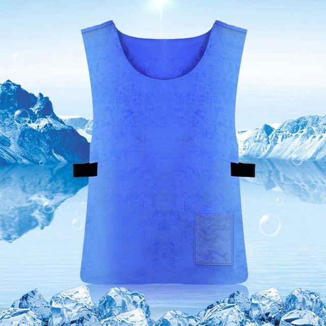 Summer Ice Cooling Sport Vest For Men Women Sunstroke Prevention