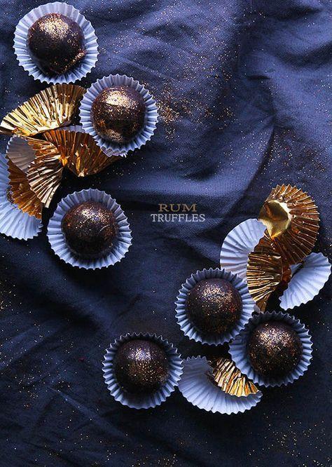 Chocolate Rum Truffles | BHG Delish Dish