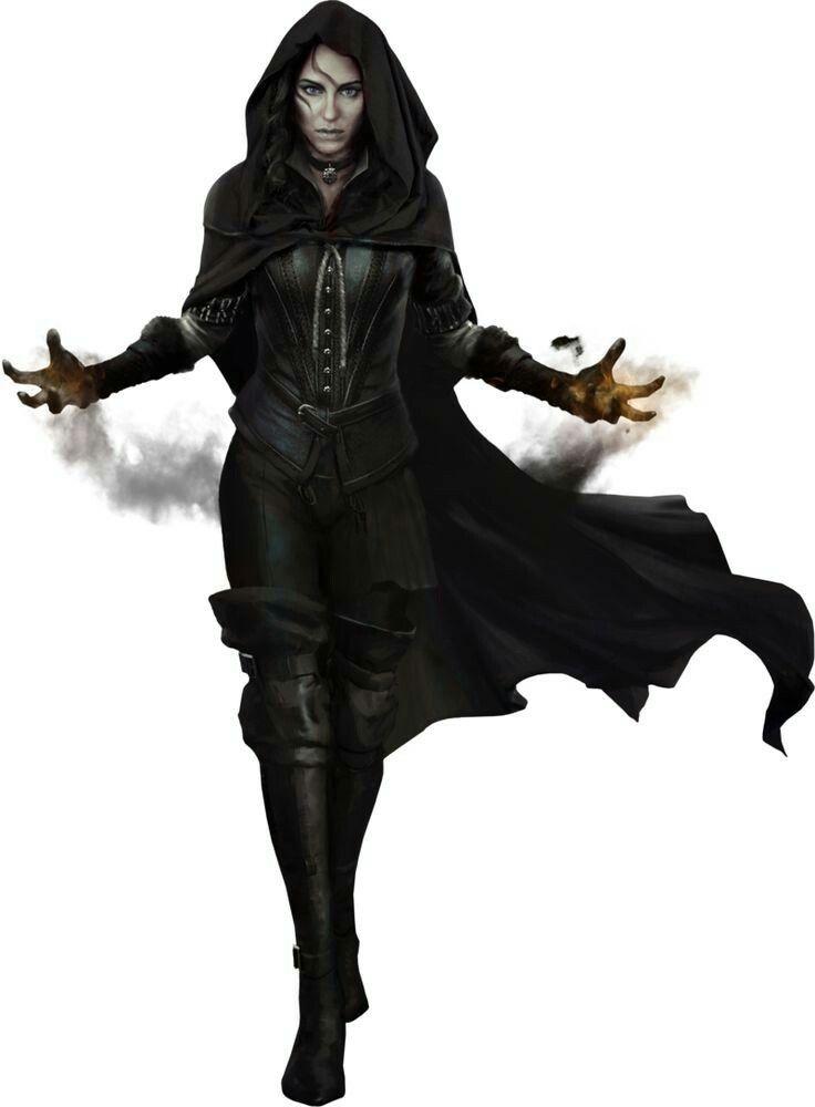 Female Arcane Rogue. Fantasy