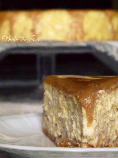 Bake: Sernik chałwowy