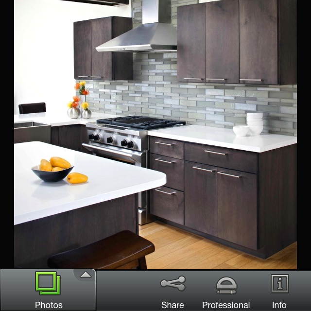Love How All Cabinet Handles Are Horizontal... Love Stove Too