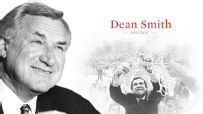 Dean Smith, ESPN tribute. http://espn.go.com/mens-college-basketball/story/_/id/12296469/dean-smith-remembered-north-carolina-tar-heels-chapel-hill-residents