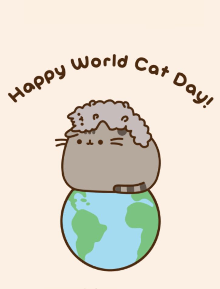 Happy Belated Cat Day!!