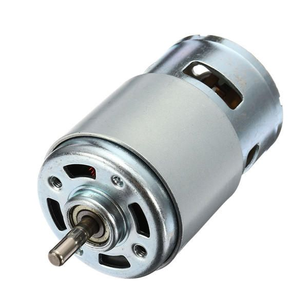 Dc 12v 24v 10000rpm 775 Motor Large Torque Motor With Ball Bearing