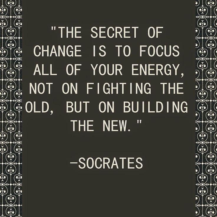 work towards the future