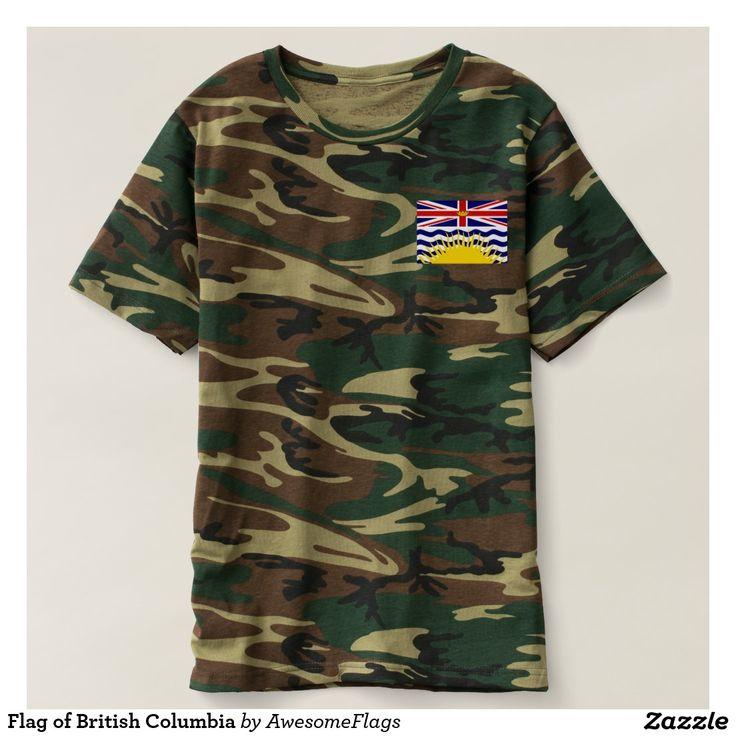 Flag of British Columbia T-Shirt