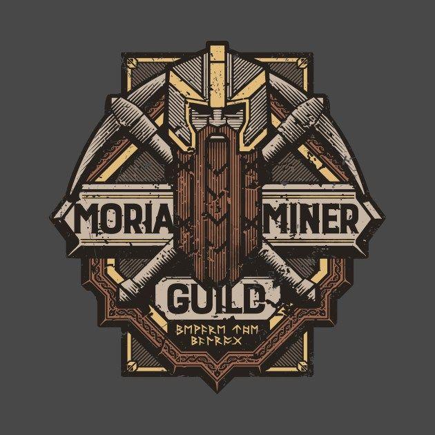 Gremio de Mineros de Moria, diseño de Cory Freeman | El Anillo Único
