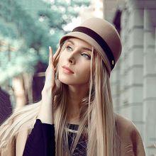 Новый 100% австралийской шерсти купол фетровую шляпу британский стиль чисто шерстяная шляпы-котелок колпачок качество зима женщин повелительниц дерби шляпы FW061008A(China (Mainland))