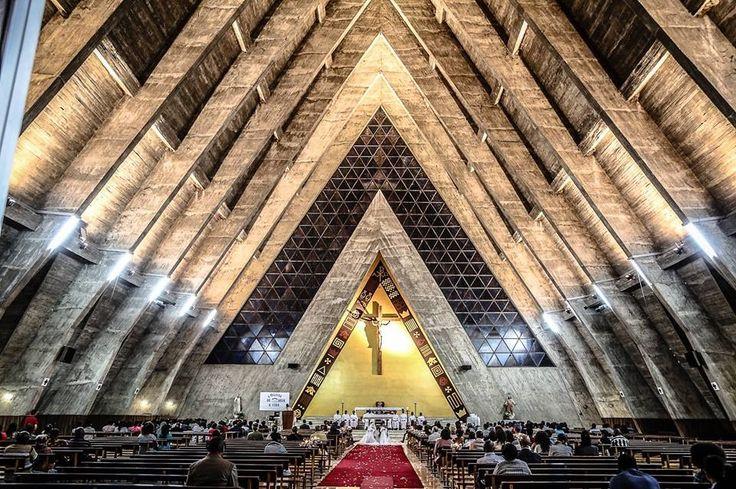 Interior da igreja Sé catedral de Benguela  By Angola