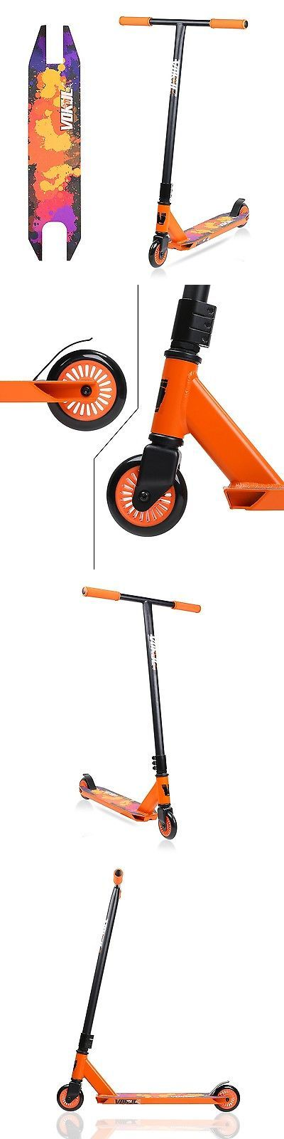 Kick Scooters 11331: Vokul Pro Stunt Lightweight, Super-Tough Aluminum Stunt Kick Scooter New Tg-6061 -> BUY IT NOW ONLY: $82.19 on eBay!
