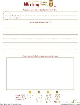 18 best Owls Bats images on Pinterest Bats, Teaching ideas and - best of writing invitation worksheet