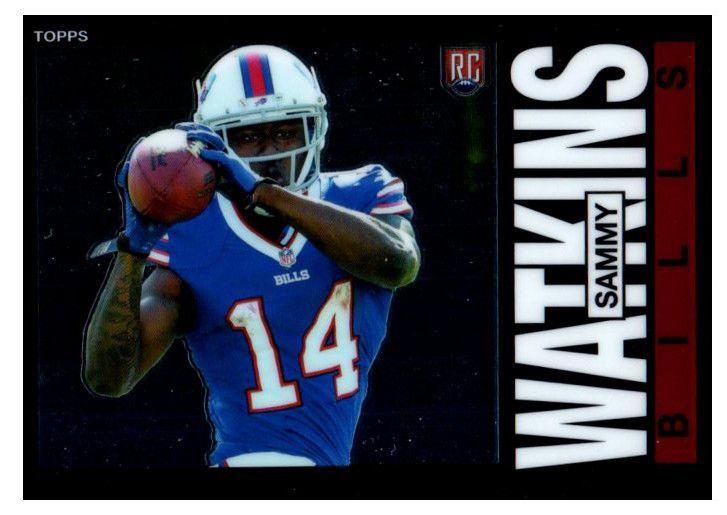 2014 Topps Chrome Sammy Watkins Rookie Card Buffalo Bills